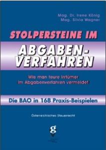 STOLPERSTEINE IM ABGABEVERFAHREN